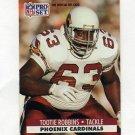 1991 Pro Set Football #627 Tootie Robbins - Phoenix Cardinals