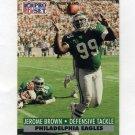 1991 Pro Set Football #614 Jerome Brown - Philadelphia Eagles