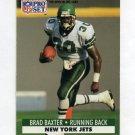 1991 Pro Set Football #604 Brad Baxter - New York Jets