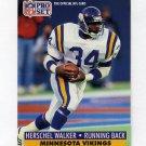 1991 Pro Set Football #576 Herschel Walker - Minnesota Vikings
