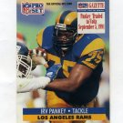 1991 Pro Set Football #554 Irv Pankey - Indianapolis Colts
