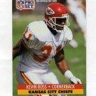 1991 Pro Set Football #535 Kevin Ross - Kansas City Chiefs