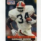 1991 Pro Set Football #474 Kevin Mack - Cleveland Browns