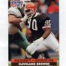 1991 Pro Set Football #471 Rob Burnett RC - Cleveland Browns
