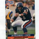 1991 Pro Set Football #456 Jay Hilgenberg - Chicago Bears
