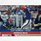 1991 Pro Set Football #447 Scott Norwood - Buffalo Bills