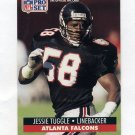 1991 Pro Set Football #441 Jessie Tuggle - Atlanta Falcons