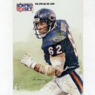 1991 Pro Set Football #384 Mark Bortz - Chicago Bears