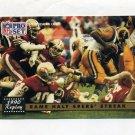 1991 Pro Set Football #332 49ers Streak / Cleveland Gary
