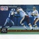 1991 Pro Set Football #330 Jeff Rutledge - Washington Redskins