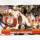1991 Pro Set Football #313 Ervin Randle - Tampa Bay Buccaneers