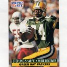1991 Pro Set Football #161 Sterling Sharpe - Green Bay Packers