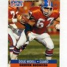 1991 Pro Set Football #143 Doug Widell - Denver Broncos