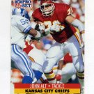 1991 Pro Set Football #181 John Alt - Kansas City Chiefs