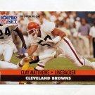 1991 Pro Set Football #122 Clay Matthews - Cleveland Browns