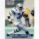 1991 Pro Set Football #127 Tommie Agee - Dallas Cowboys