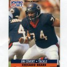 1991 Pro Set Football #102 Jim Covert - Chicago Bears