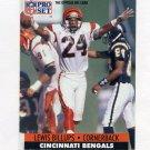 1991 Pro Set Football #109 Lewis Billups - Cincinnati Bengals
