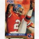 1991 Pro Set Football #015 Mike Horan - Denver Broncos