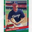 1991 Donruss Baseball Bonus Cards #BC20 Bobby Thigpen - Chicago White Sox
