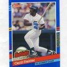 1991 Donruss Baseball Bonus Cards #BC05 Cecil Fielder - Detroit Tigers