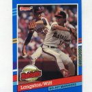 1991 Donruss Baseball Bonus Cards #BC01 Mark Langston / Mike Witt - California Angels