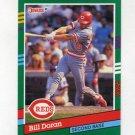 1991 Donruss Baseball #756 Bill Doran - Cincinnati Reds