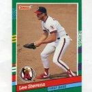 1991 Donruss Baseball #754 Lee Stevens - California Angels
