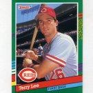 1991 Donruss Baseball #752 Terry Lee RC - Cincinnati Reds