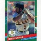 1991 Donruss Baseball #748 Harold Baines - Oakland A's