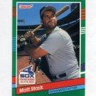 1991 Donruss Baseball #747 Matt Stark RC - Chicago White Sox