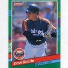 1991 Donruss Baseball #743 Dave Rohde - Houston Astros