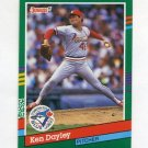 1991 Donruss Baseball #735 Ken Dayley - Toronto Blue Jays