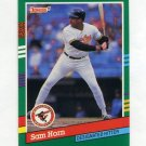 1991 Donruss Baseball #733 Sam Horn - Baltimore Orioles