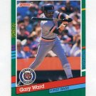 1991 Donruss Baseball #728 Gary Ward - Detroit Tigers