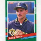 1991 Donruss Baseball #725 Randy Tomlin RC - Pittsburgh Pirates