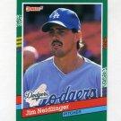 1991 Donruss Baseball #713 Jim Neidlinger RC - Los Angeles Dodgers