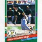 1991 Donruss Baseball #701 Lance Blankenship - Oakland A's