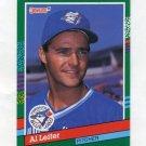 1991 Donruss Baseball #697 Al Leiter - Toronto Blue Jays