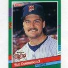 1991 Donruss Baseball #694 Tim Drummond - Minnesota Twins