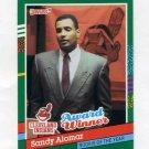1991 Donruss Baseball #693 Sandy Alomar Jr. - Cleveland Indians