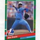 1991 Donruss Baseball #681 Mel Rojas - Montreal Expos