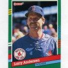 1991 Donruss Baseball #665 Larry Andersen - Boston Red Sox