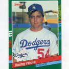 1991 Donruss Baseball #655 Jim Poole - Los Angeles Dodgers