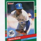 1991 Donruss Baseball #651 Gene Harris - Seattle Mariners