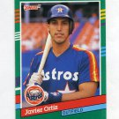 1991 Donruss Baseball #643 Javier Ortiz - Houston Astros