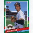 1991 Donruss Baseball #638 John Burkett - San Francisco Giants