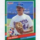 1991 Donruss Baseball #624 Joe Bitker RC - Texas Rangers