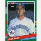 1991 Donruss Baseball #621 Russ Swan - Seattle Mariners