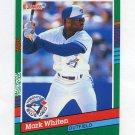1991 Donruss Baseball #607 Mark Whiten - Toronto Blue Jays
